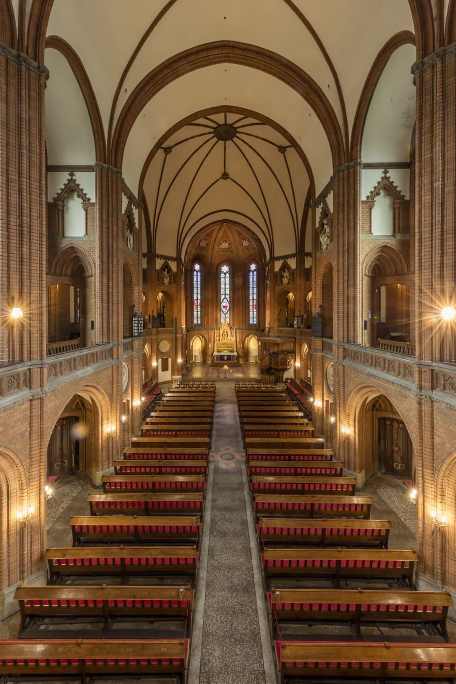 Kirche St. Johannis Harvestehude, Hamburg – Innenraum