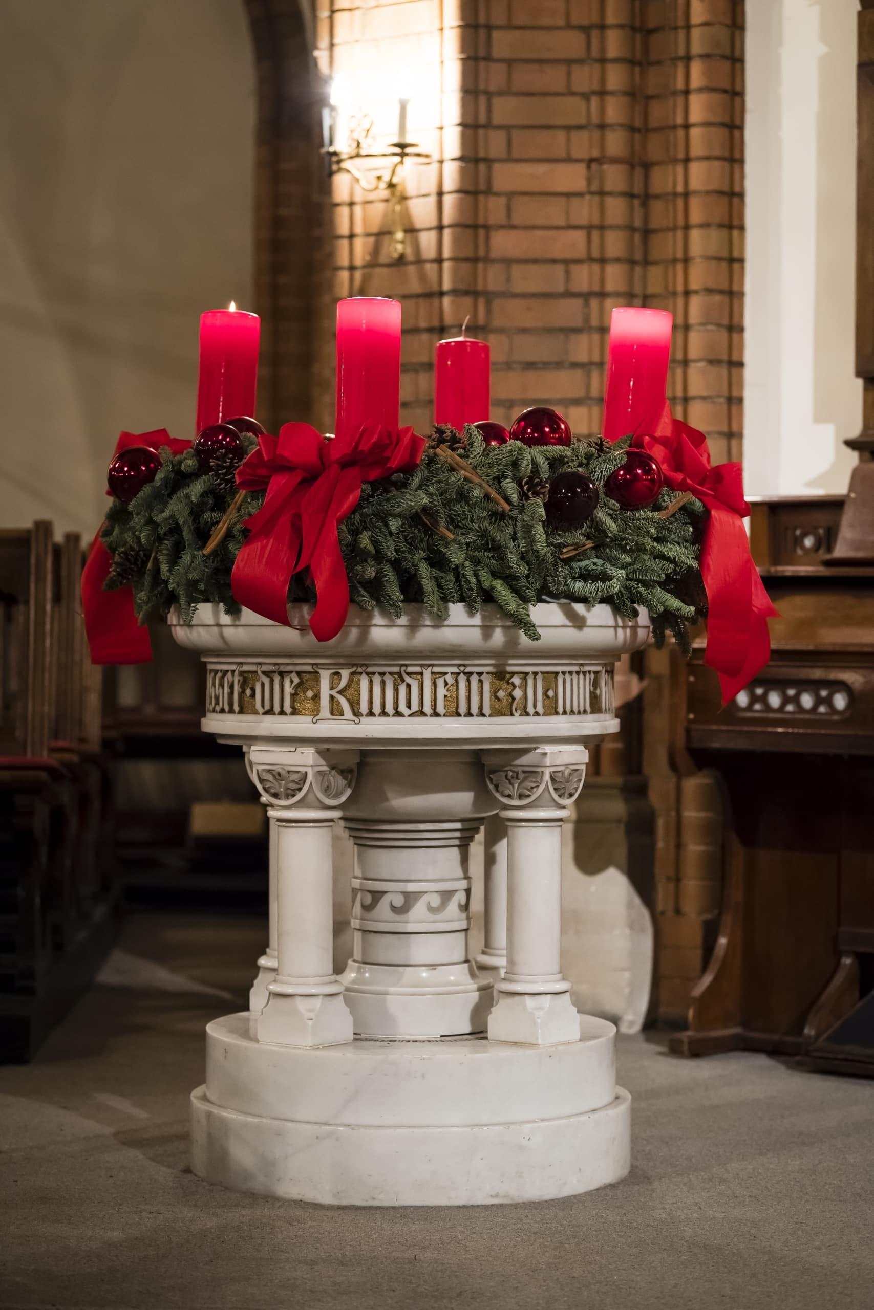 Kirche St. Johannis Harvestehude, Hamburg – Freue dich sehr!