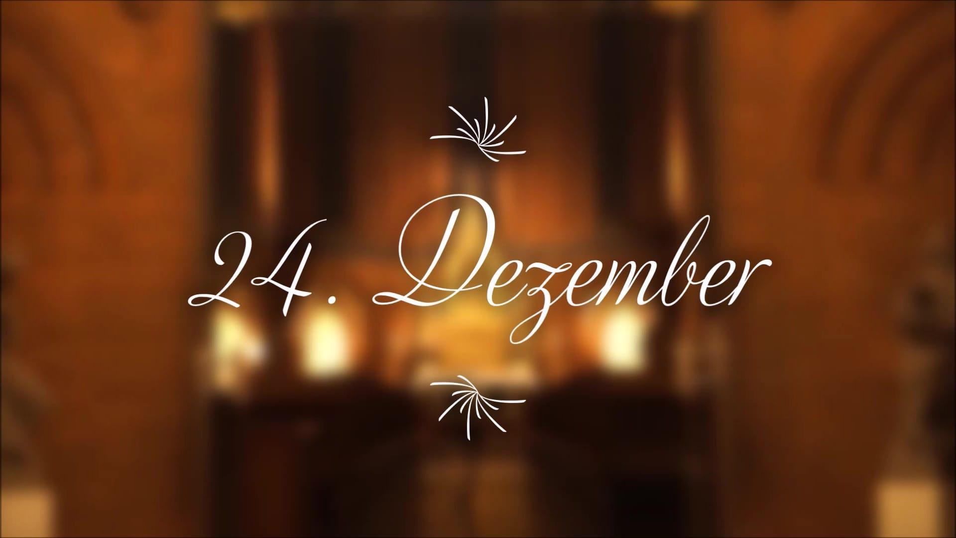 Kirche St. Johannis Harvestehude, Hamburg – Adventskalender 24. Dezember – Das Krippenspiel